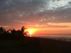 Sunrise in El Paredon, Guatemala.